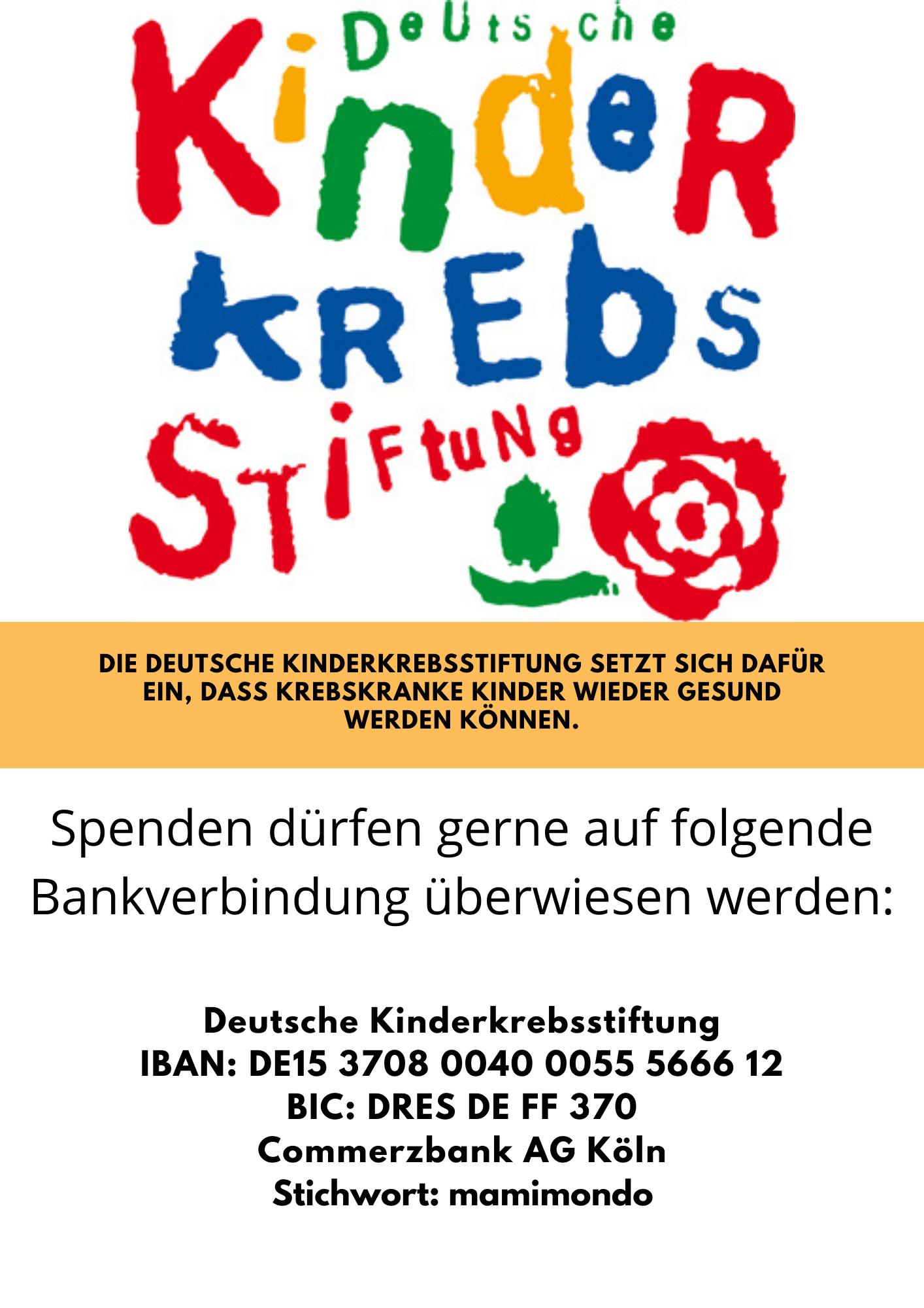 Logo Deutsche Kinder Krebs Stiftung
